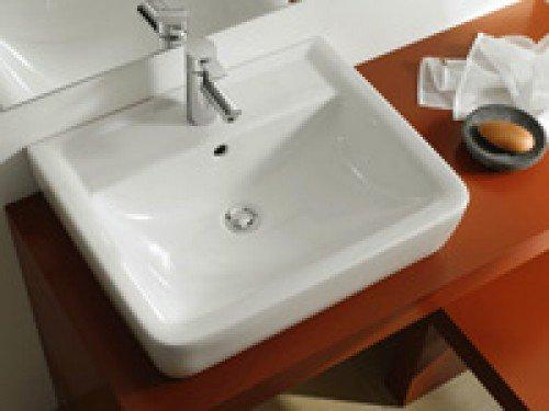 Keramag Renova Nr.1 Waschtisch 600 x 490 mm weiss Keratect Beschichtung
